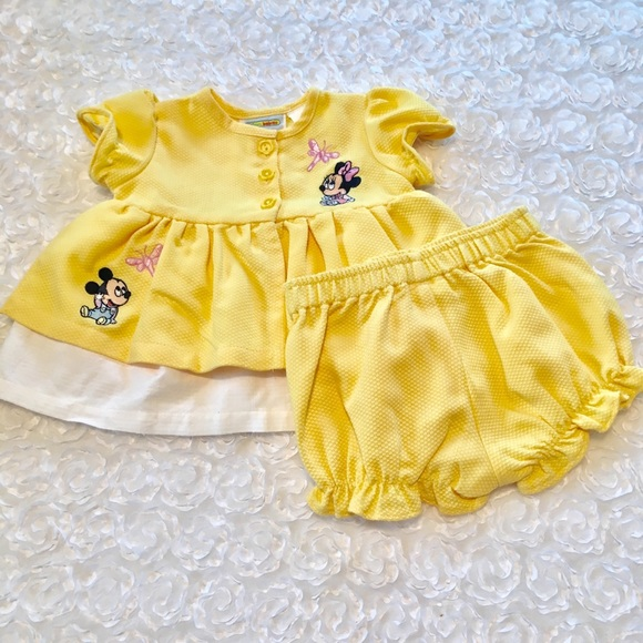 Disney Other - 💛Disney NWOT Baby girls(2) piece outfit 💛